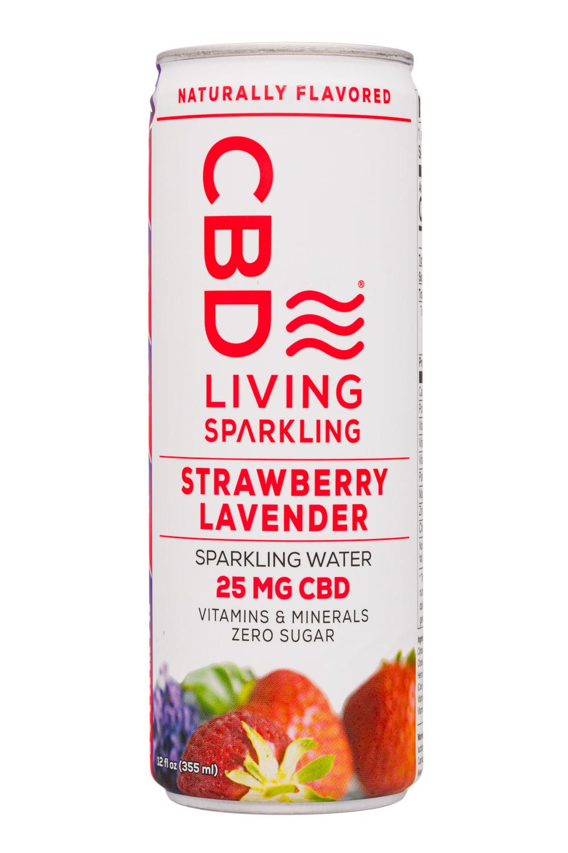 CBD Living Sparkling Strawberry Lavender