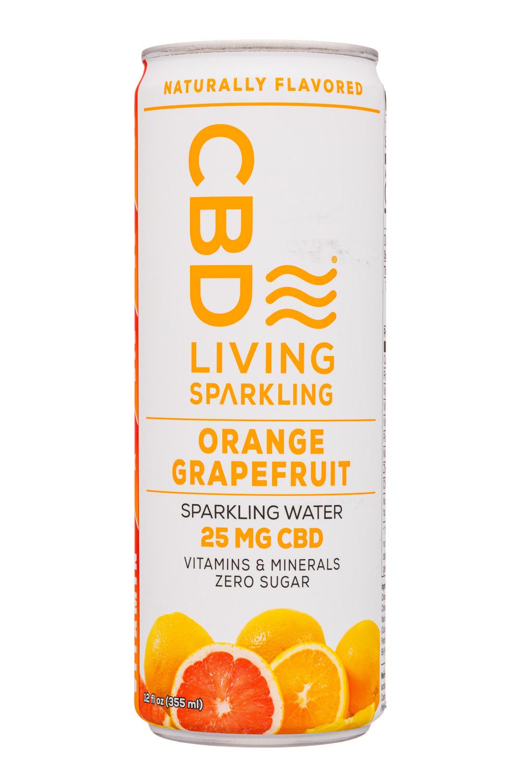 CBD Living Sparkling Orange Grapefruit