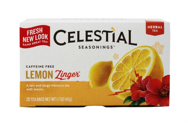 Celestial Seasonings Tea Bags: Celestial LemonZinger Front