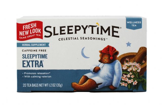 Celestial Seasonings Tea Bags: Celestial SleepExtra Front