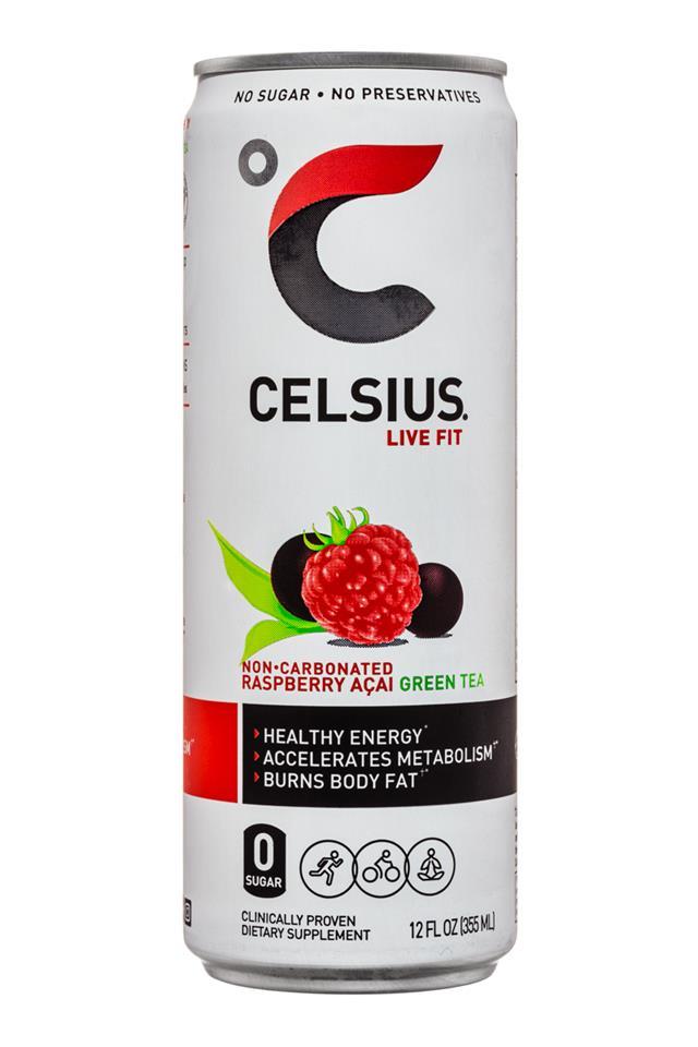CELSIUS : Celsius-LiveFit-12oz-NonCarbRaspberryAcai-Front