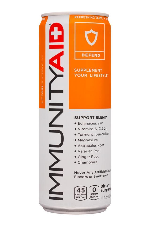 CELSIUS : Celsius-12oz-ImmunityAid-Defend-Front