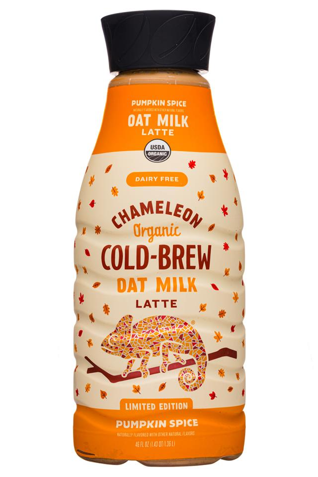 Chameleon Cold-Brew: Chameleon-46oz-ColdBrew-OatMilkLatte-PumpSpice-Front