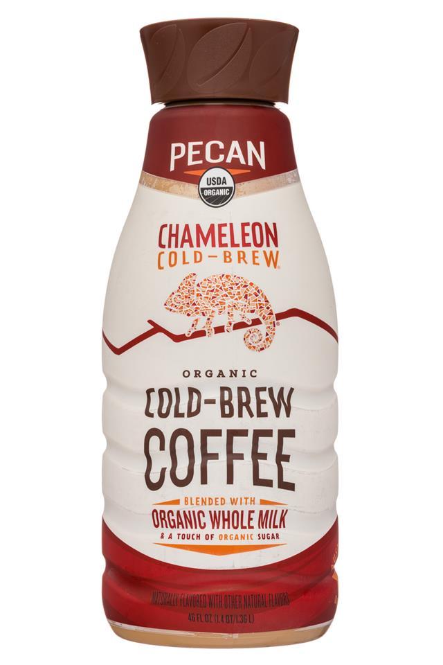 Chameleon Cold-Brew: Chameleon-46oz-ColdBrewCoffee-Pecan-Front