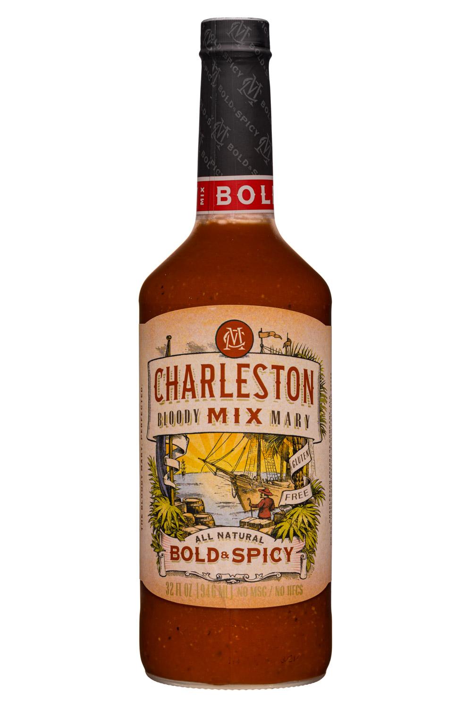 Charleston Mix: Charleston-32oz-BloodyMaryMix-BoldSpicy-Front