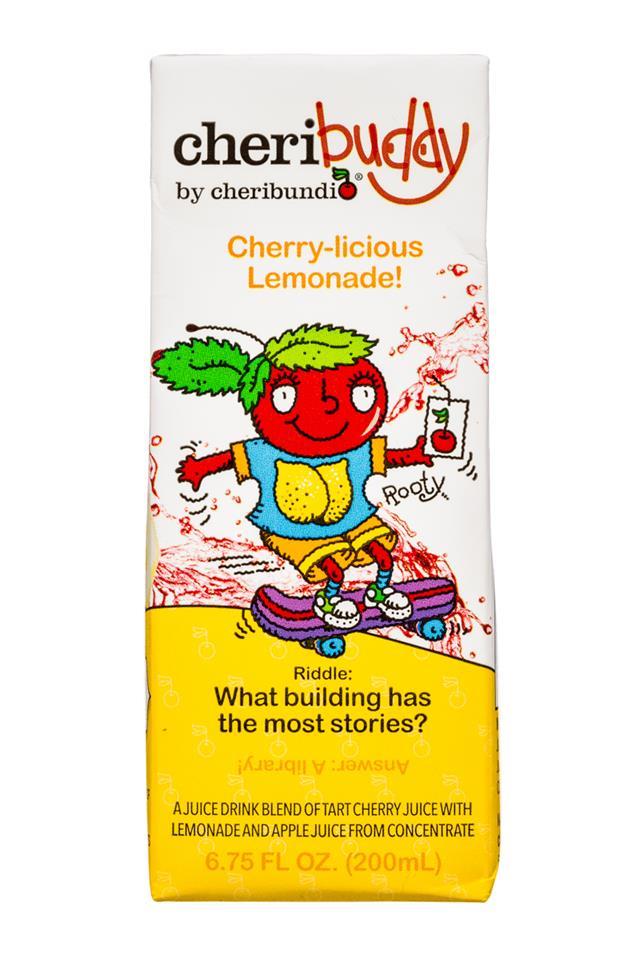 CheriBuddy: Cheribuddy-7oz-Lemonade-Front