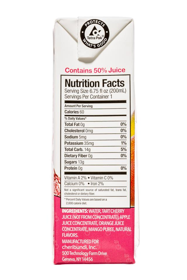 CheriBuddy: Cheribuddy-7oz-FruitPunch-Facts