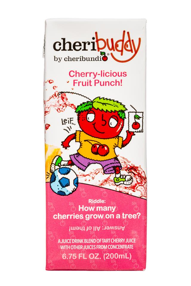 CheriBuddy: Cheribuddy-7oz-FruitPunch-Front