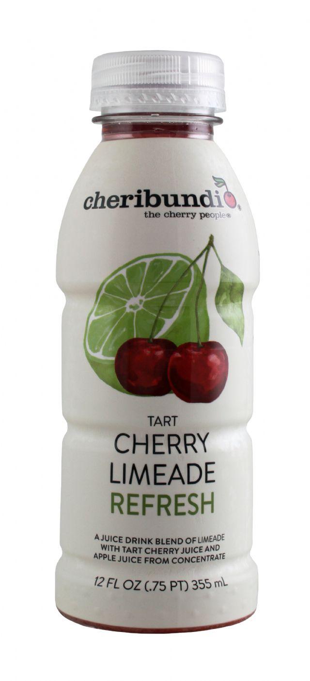 Cheribundi: CheriBundi CherryLime Front