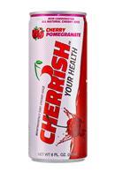 Cherrish Your Health: Cherrish-Can-8oz-CherryPomegranate-Front