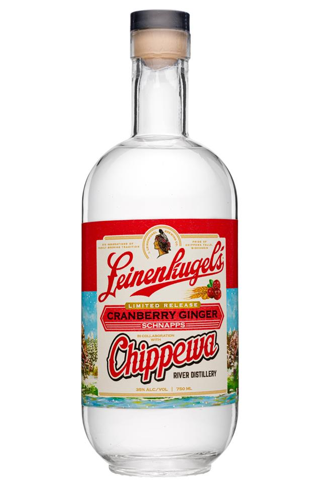 Chippewa River Distillery: Leinenkugels-750ml-2020-CranberryGinger-Chippewa