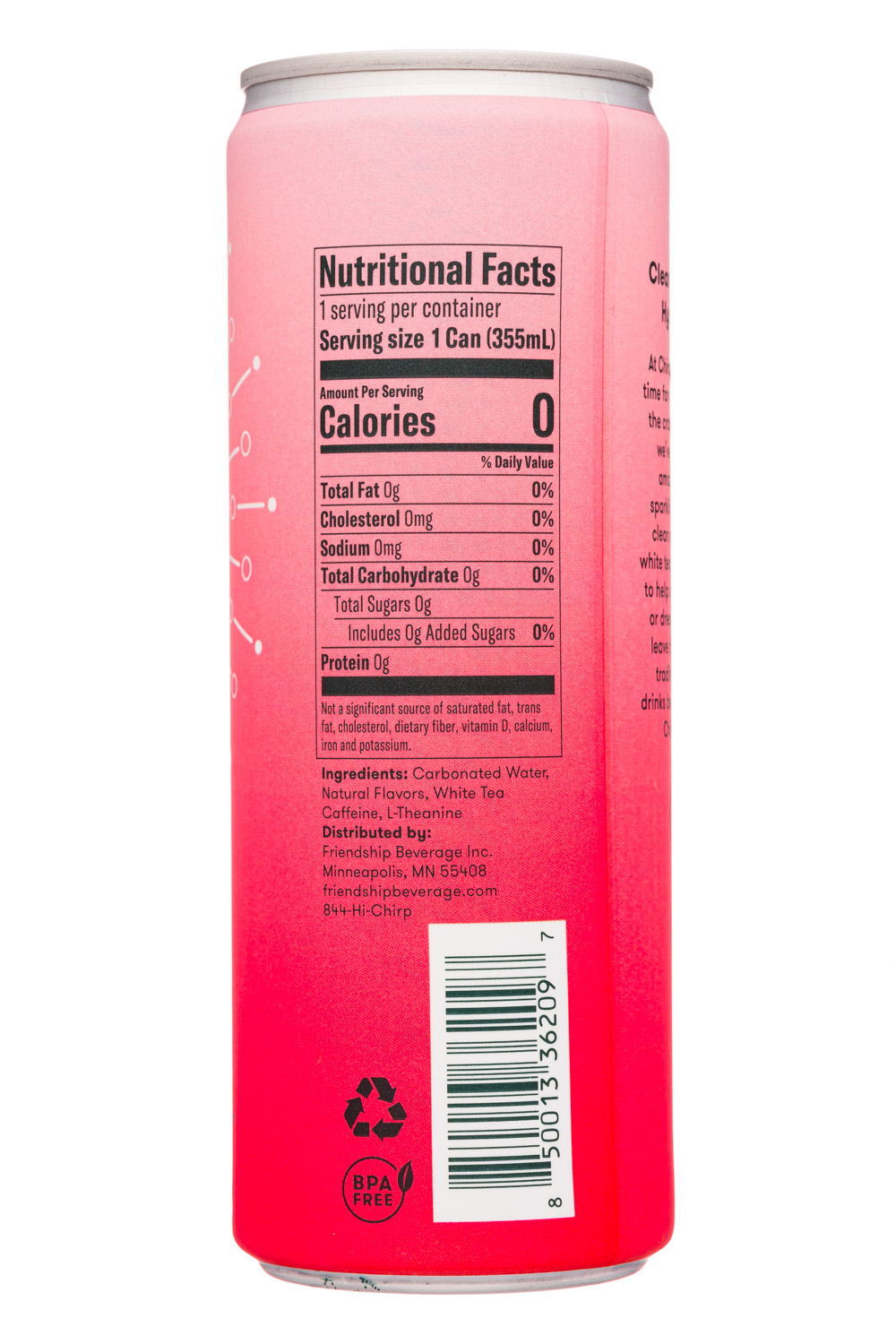 Chirp: Chirp-12oz-2020-SparklingEnergyWater-Watermelon-Facts