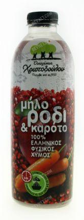Apple Pomegranate & Carrot Juice