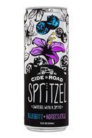 Cide Road Spritzel: CideRoad-12oz-Spritzel-BlueberryHoneysuckle-Front