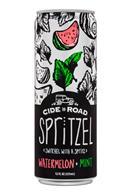 Cide Road Spritzel: CideRoad-12oz-Spritzel-WatermelonMint-Front