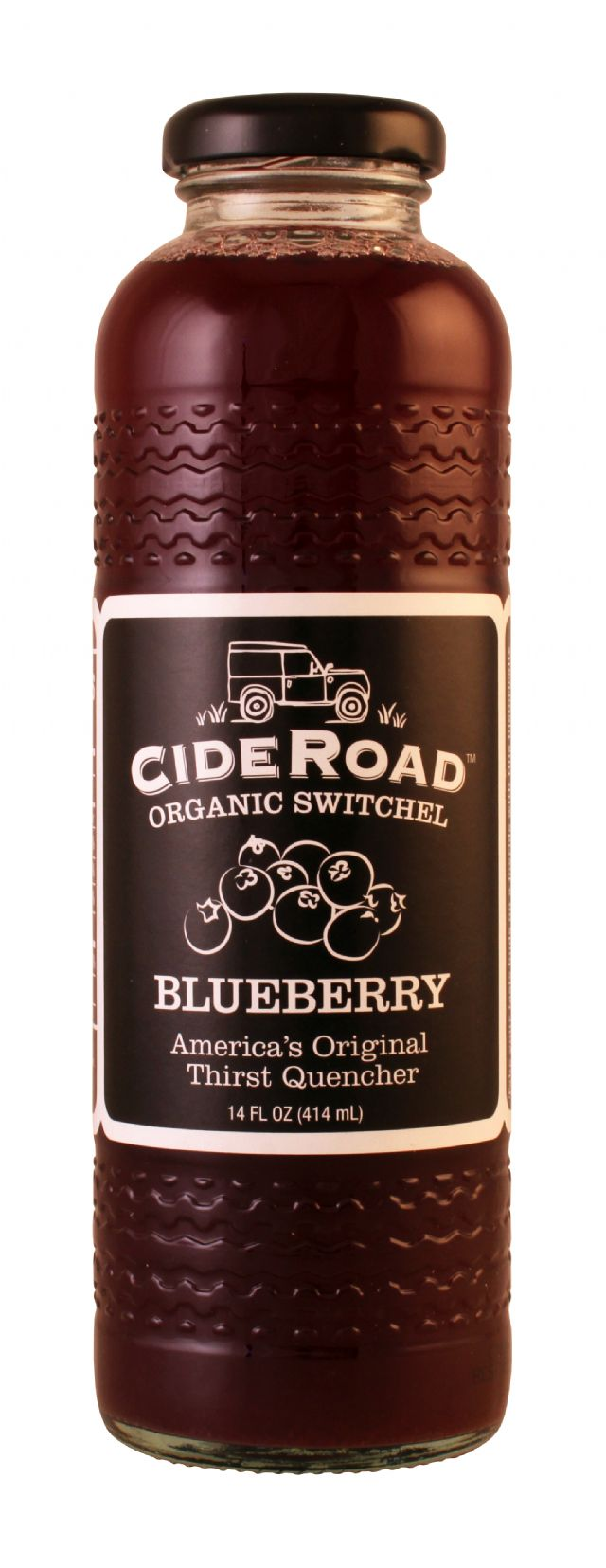 CideRoad Organic Switchel: CideRoad Blueberry Front