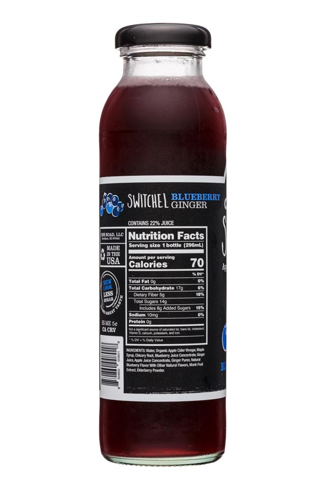 CideRoad Organic Switchel: CideRoad-10oz-Switchel-BluebGinger-Facts