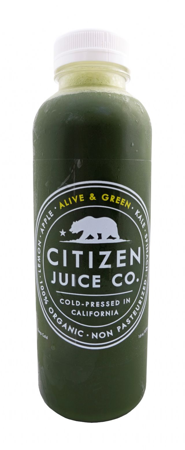 Citizen Juice: CitizenJuice AliveGreen Front