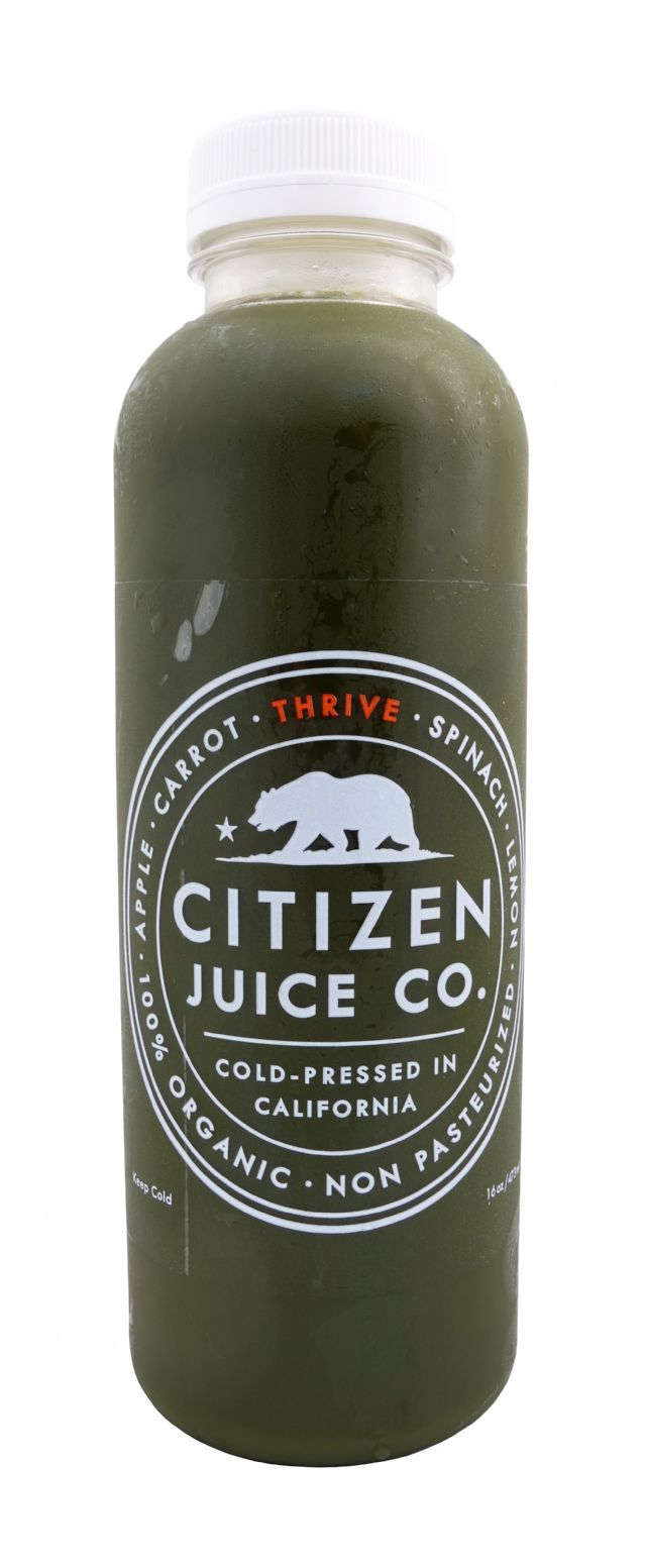 Citizen Juice: CitizenJuice Thrive Front