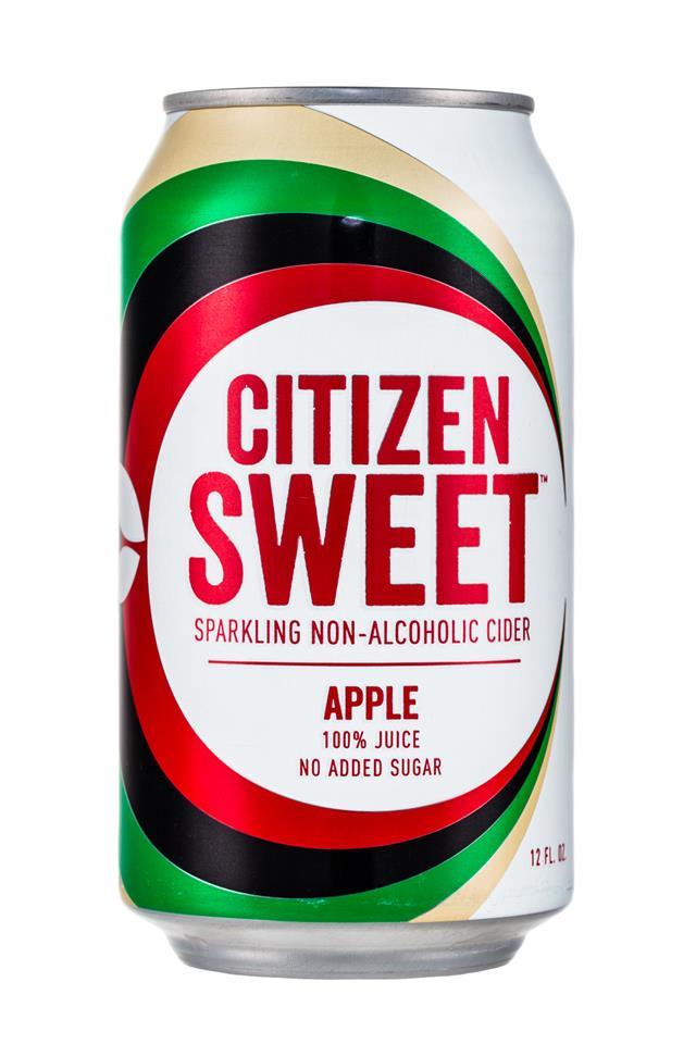 Citizen Cider: CitizenSweet-Cider-Apple-Front