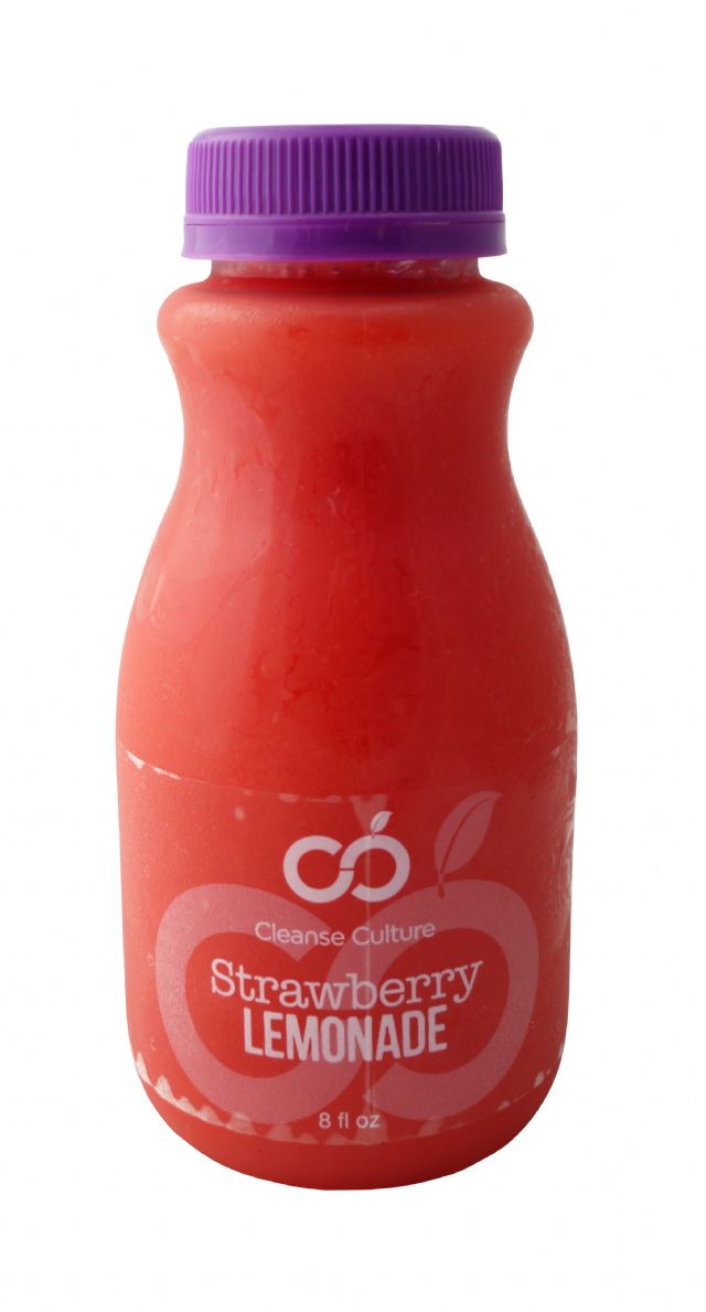 Cleanse Culture: CleanseCulture Strawberry Lem Front