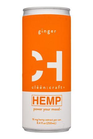 cleen:craft: CleenCraft-8oz-2020-Hemp-Ginger-front
