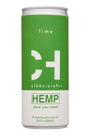 cleen:craft: CleenCraft-8oz-2020-Hemp-Lime-Front