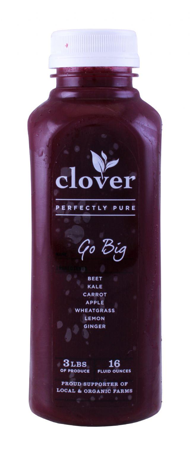 Clover Cold-Pressed Juice: Clover GoBig