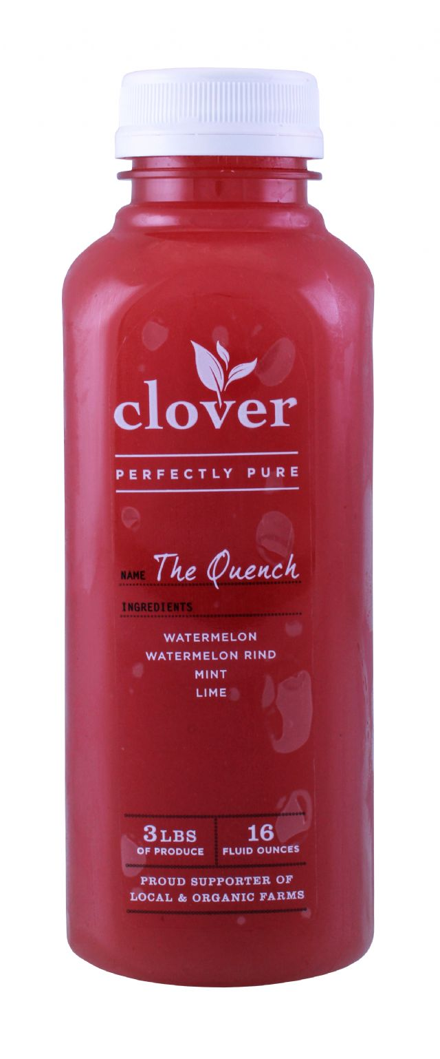 Clover Cold-Pressed Juice: Clover TheQuench