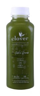 Clover Cold-Pressed Juice: Clover GoldnGreens