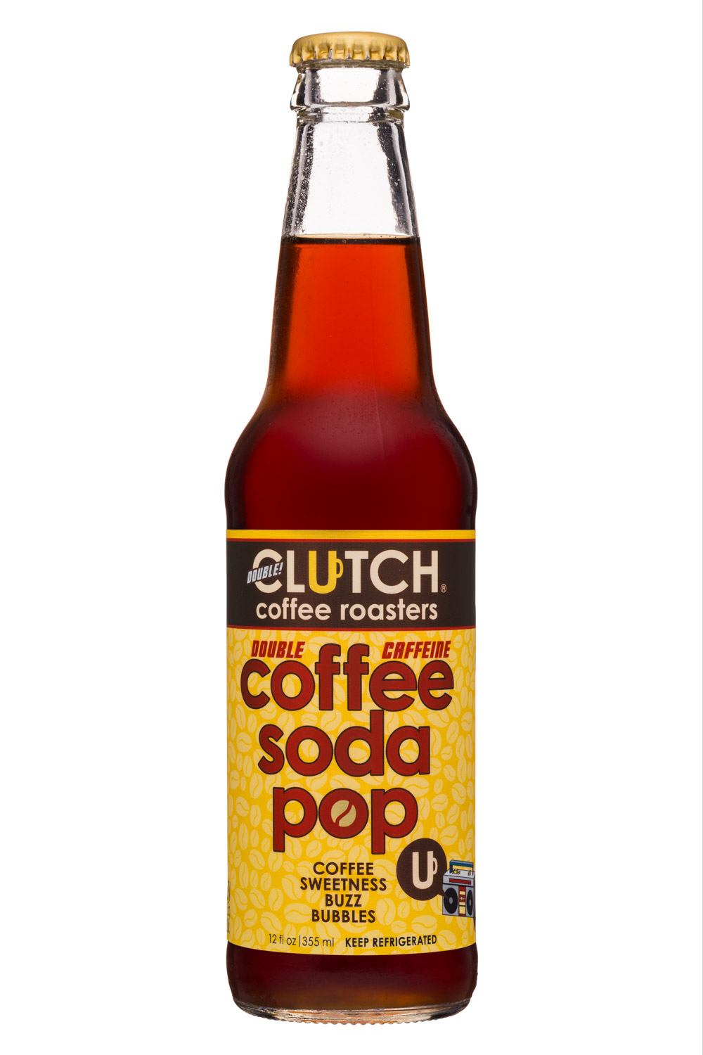 Double Caffeine Coffee Soda Pop