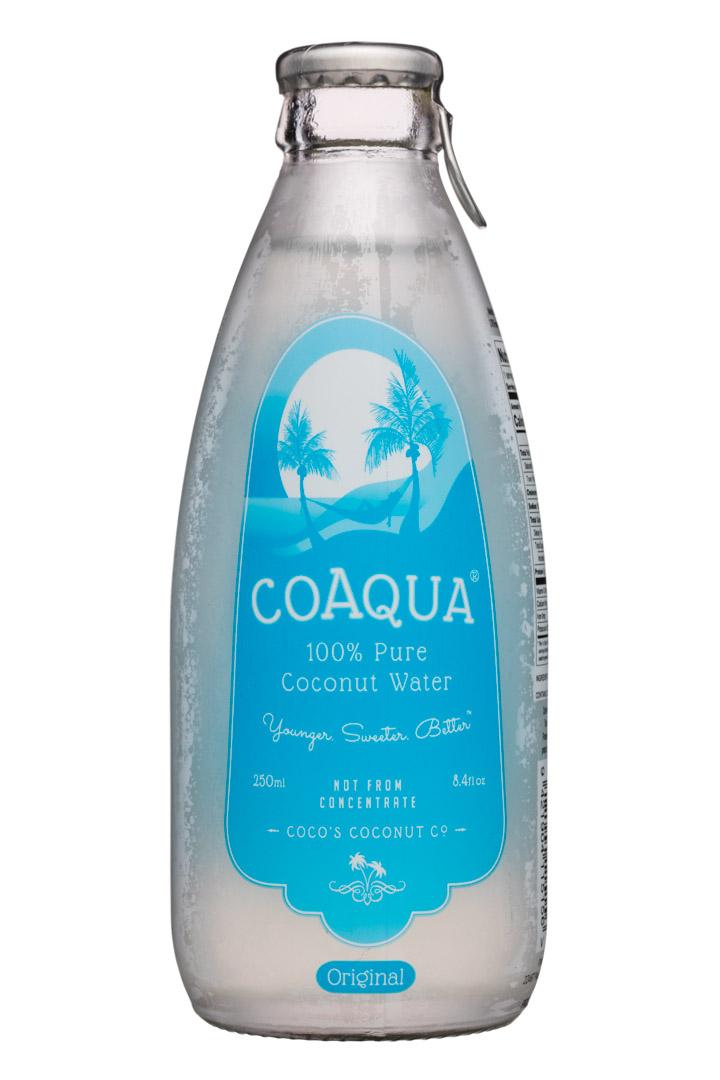 CoAqua: CoAqua-8oz-PureCoconutWater-Original-Front