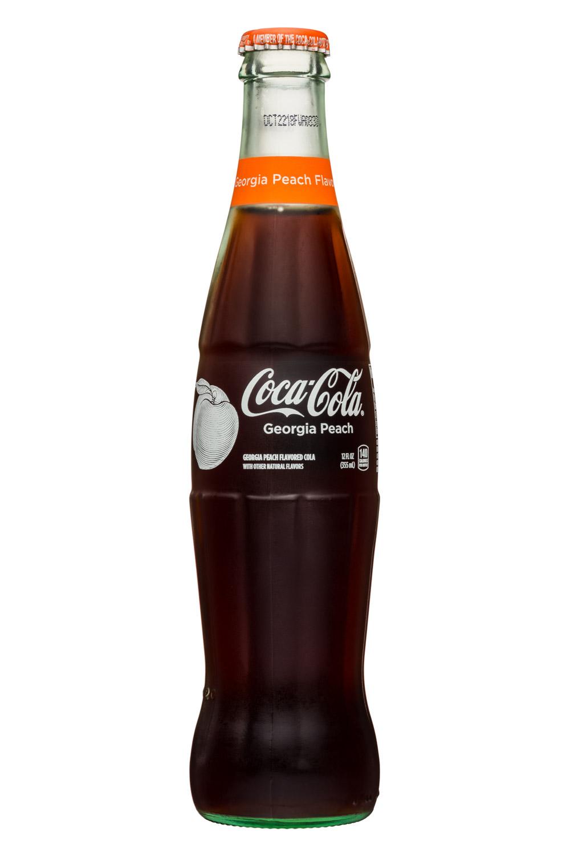 Coca-Cola Classic: CocaCola-12oz-Classic-GeorgiaPeach-Front