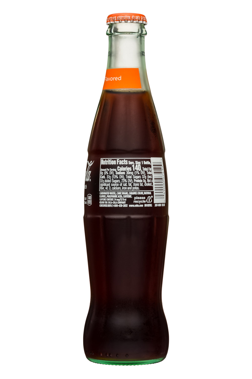 Coca-Cola Classic: CocaCola-12oz-Classic-GeorgiaPeach-Facts