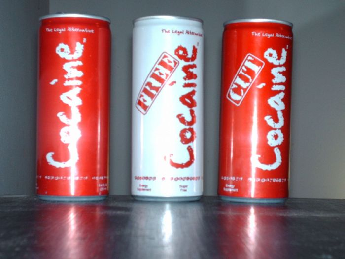 Cocaine Energy: All Three varities of Cocaine Energy Drink.