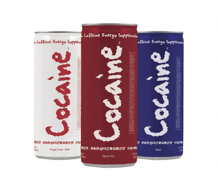 Cocaine Energy: Our new cans!