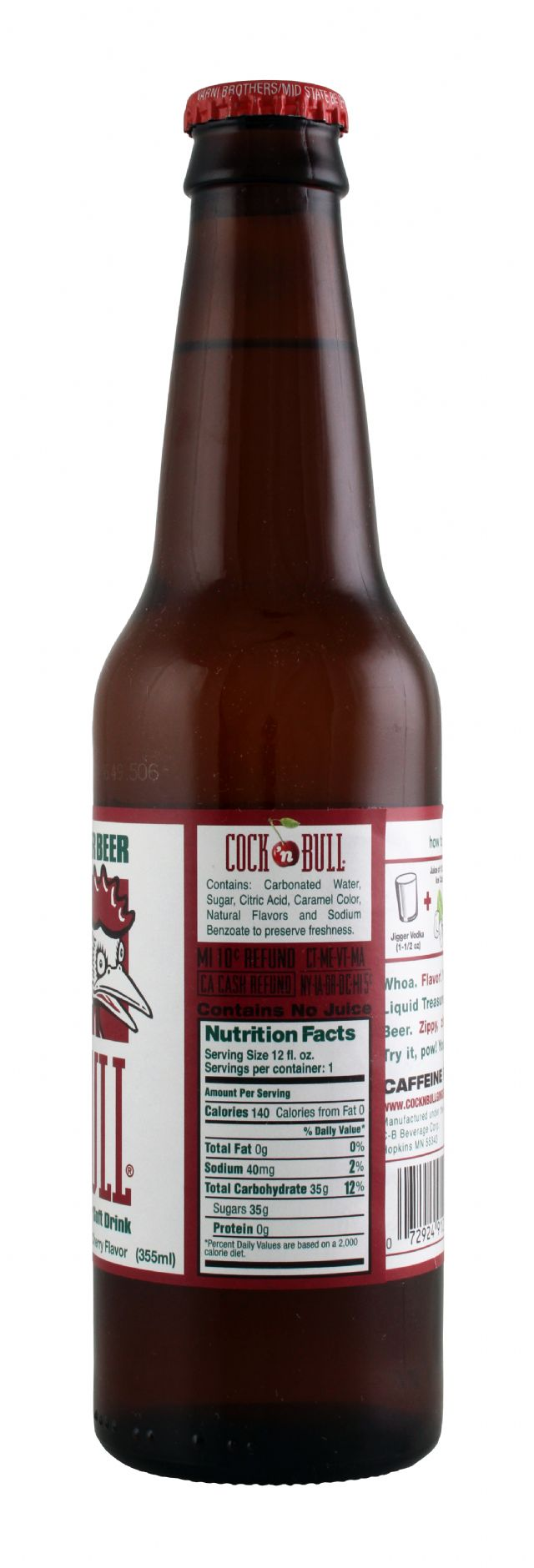 Cock 'n Bull: CockBull CherryGingerBeer Facts