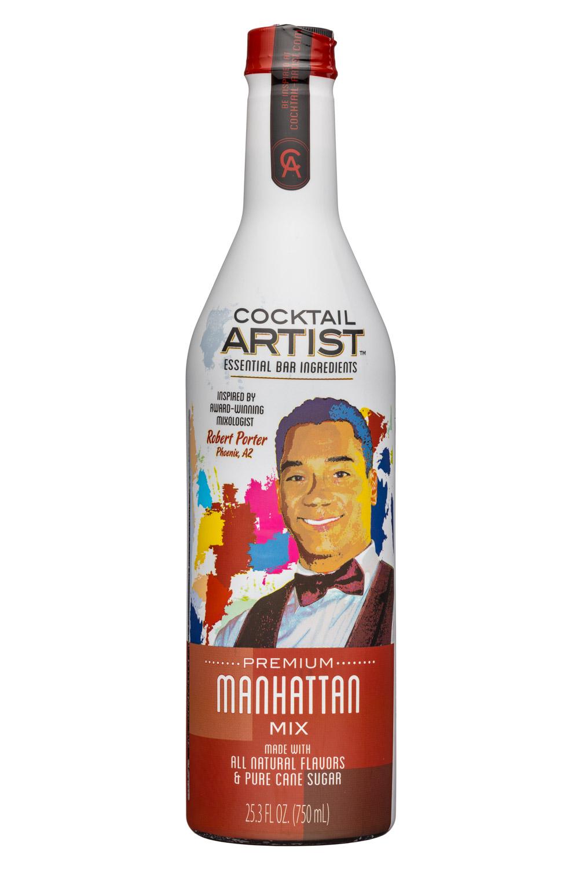 Cocktail Artist: CocktailArtist-25oz-Manhattan-Front