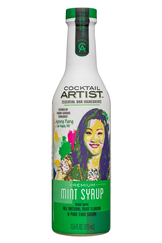 Cocktail Artist: CocktailArtist-13oz-MintSyrup-Front