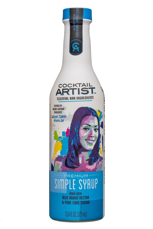 Cocktail Artist: CocktailArtist-13oz-SimpleSyrup-Front