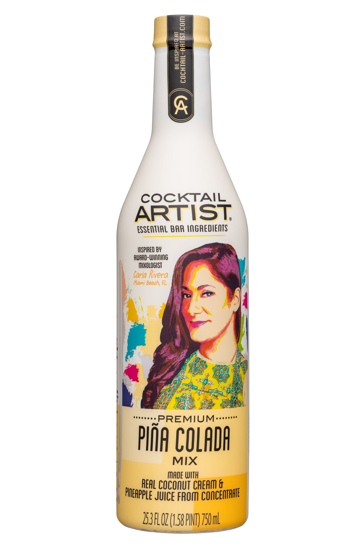 Cocktail Artist: CocktailArtist-25oz-PinaColada-Front