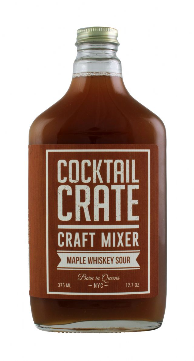 Cocktail Crate: CocktailCrate Maple Front
