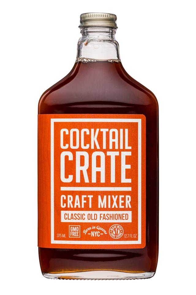 Cocktail Crate: CocktailCrate-13oz-MixerV2-ClassicOldFashioned-Front