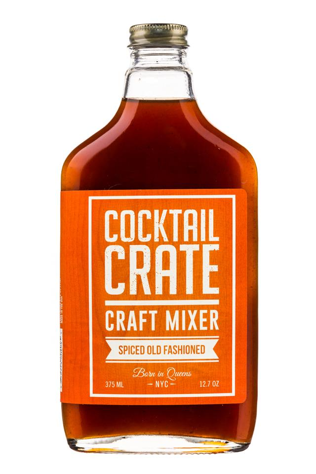 Cocktail Crate: CocktailCrate-12oz-CraftMixer-SpicedOldFashioned-Front