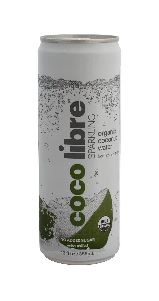 Coco Libre Sparkling Organic Coconut Water: CocoLibre Spark Front