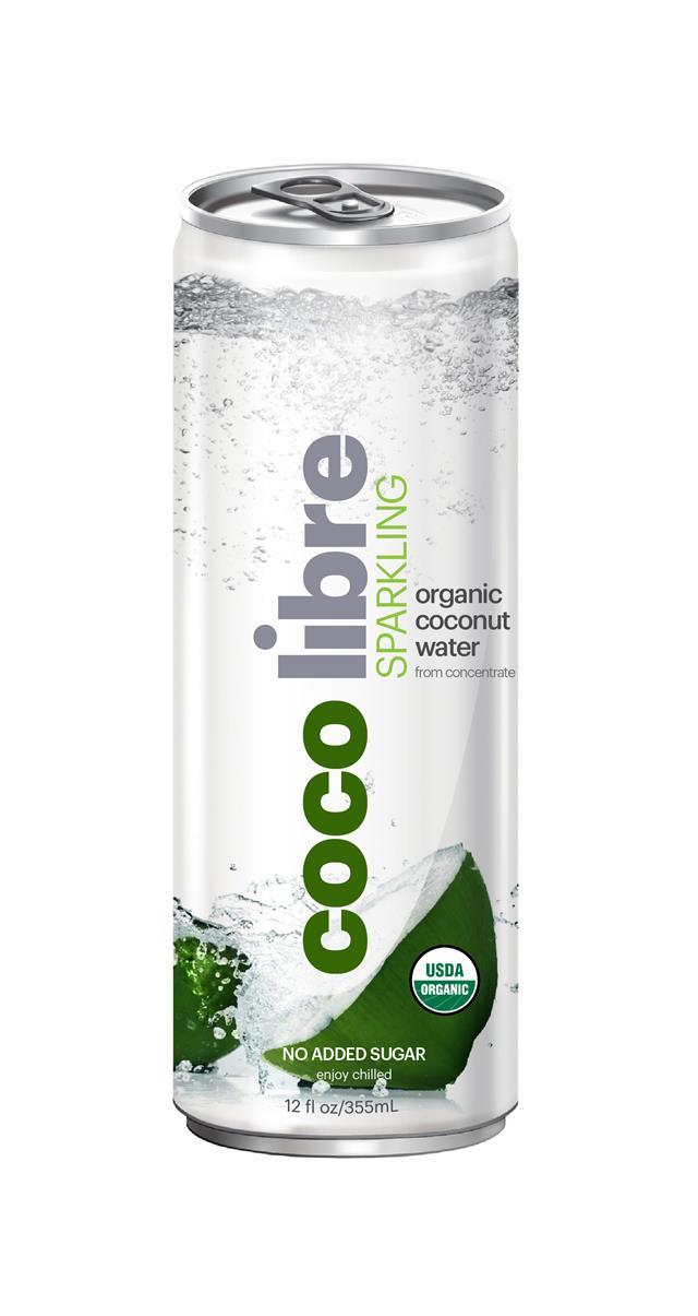 Coco Libre Sparkling Organic Coconut Water: CocoLibre Original