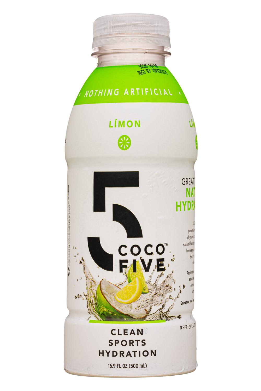 Coco5: Coco5-17oz-SportsHydration-Limon-Front