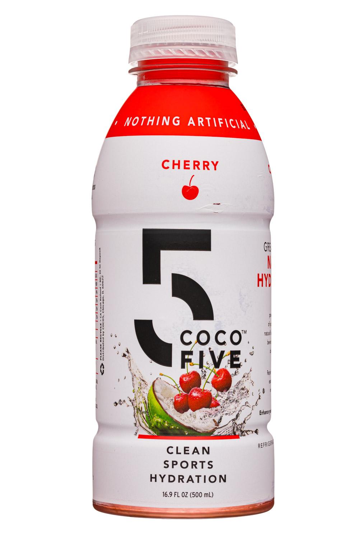 Coco5: Coco5-17oz-SportsHydration-Cherry-Front