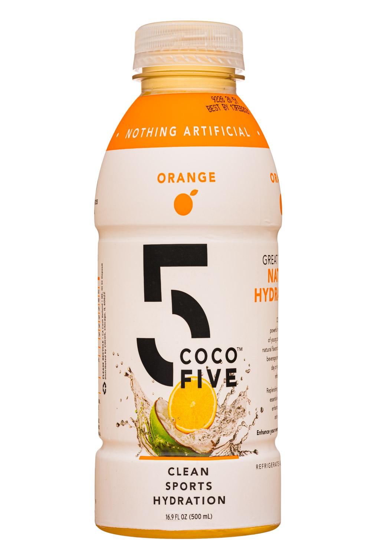 Coco5: Coco5-17oz-SportsHydration-Orange-Front