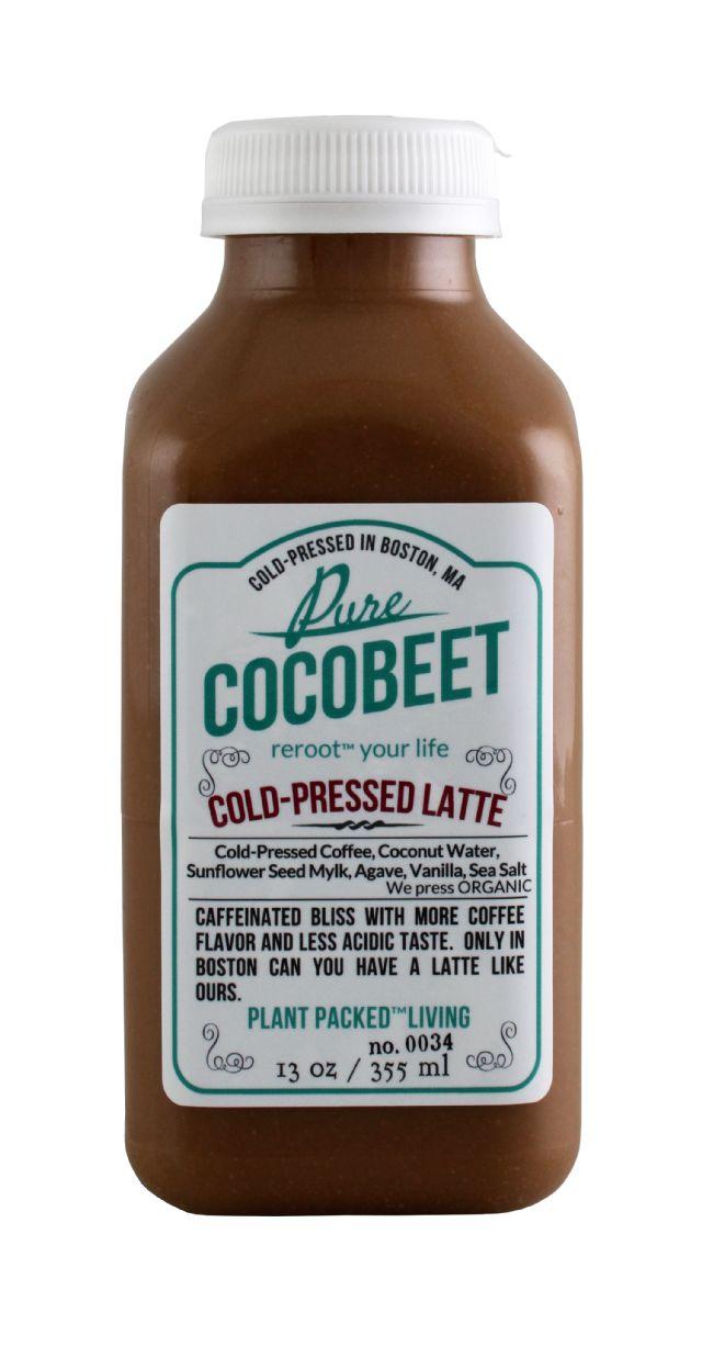 Cocobeet: CocoBeet ColdPressLatte Front